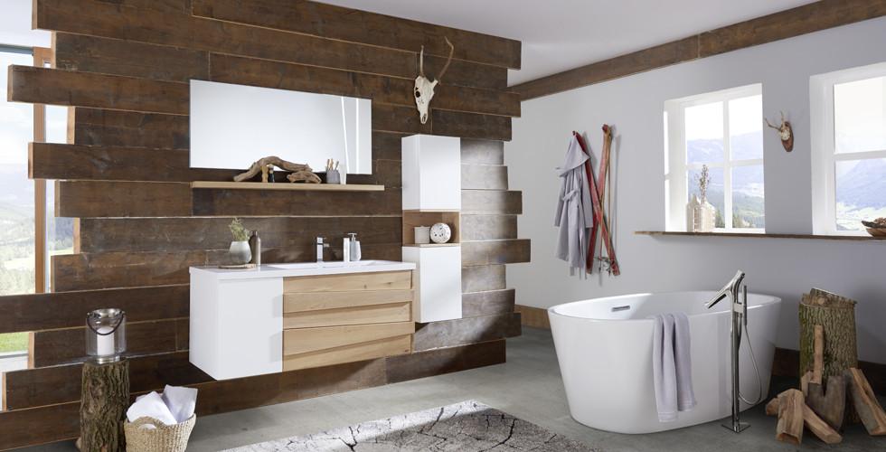 Badezimmer Trend Holz
