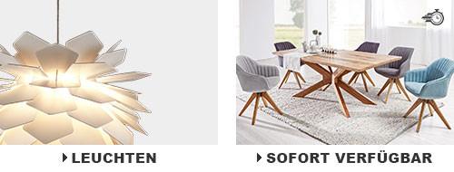 leuchten & sofort verfügbare Möbel