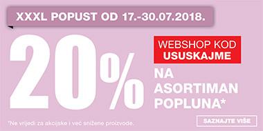 20% popusta na asortiman popluna u Lesnini