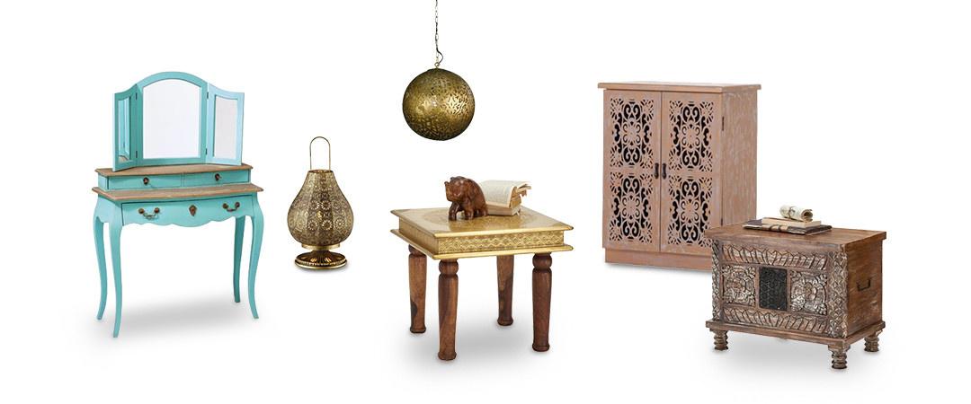 Freisteller orientalische Schlafzimmermöbel