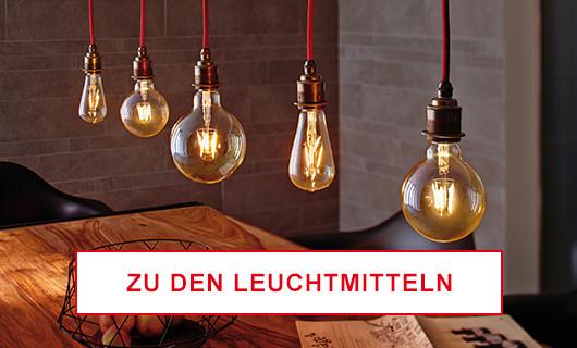 Leuchtmittel im Industriestil