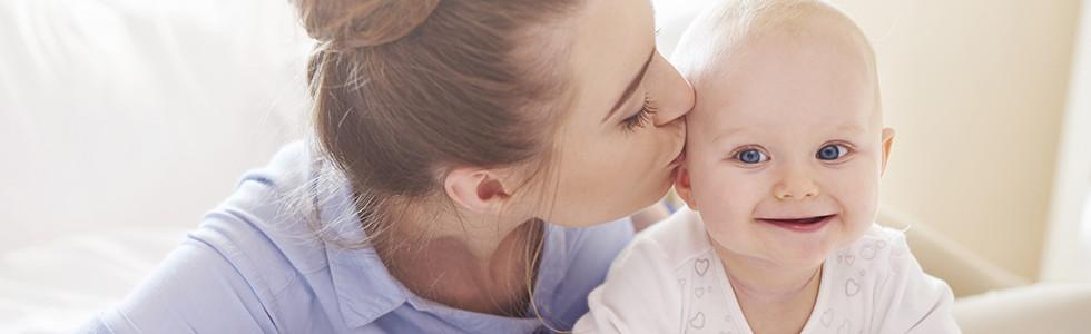 Kindersicherheit Mutter und Kind