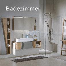 Voglauer Badezimmer Weiß Grau Braun