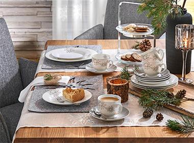 servis za jelo dekoriranje stola