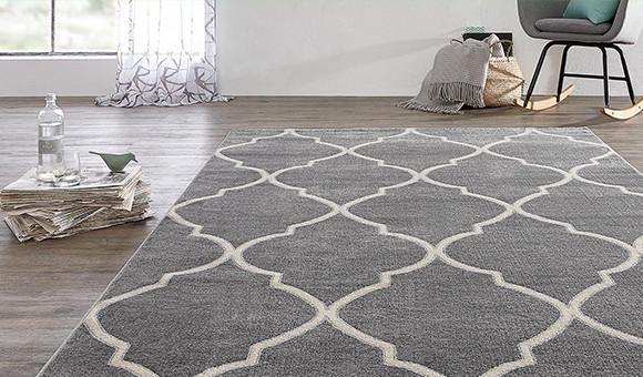 gemütlicher Teppich im Flur
