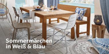 Sommermärchen in Weiß & Blau