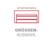Boxspringbett Prinz Klassik - Groessenauswahl