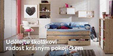 Pokoj pro školáky i studenty