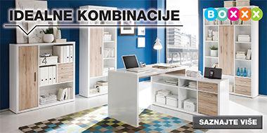 Velik izbor kvalitetnog uredskog namještaja Lesnina XXXL