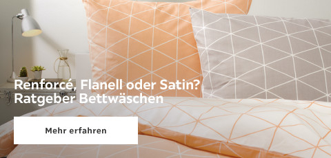 Renforce, Flanell oder Satin?