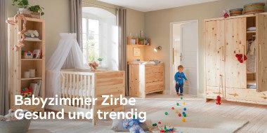 Babyzimmer Zirbe