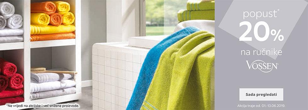 20% popusta na Vossen ručnike