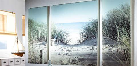 Slika plaže i prirode