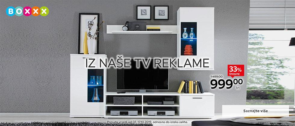 Bijeli regal iz naše TV reklame