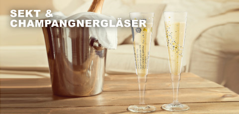 Ritzenhoff Sektgläser und Champagnergläser