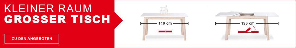 Kleiner Raum, Großer Tisch