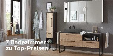 7 Badezimmer zu Top-Preisen