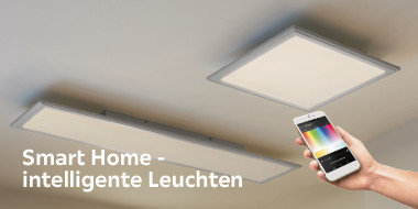 Smart Home - intelligente Leuchten
