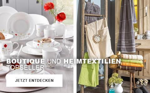 Boutique und Heimtextilien Topseller