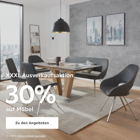 30% auf Möbel