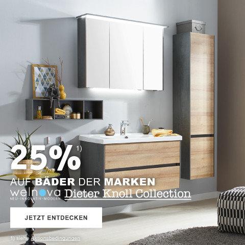 25% auf Baeder der Marken welnova, Dieter Koll Collection