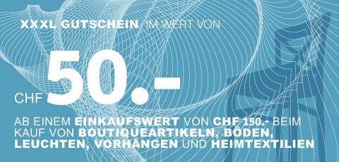 CHF 50.- sparen!