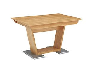 Dýha z pravého dřeva jídelní stůl divoký dub