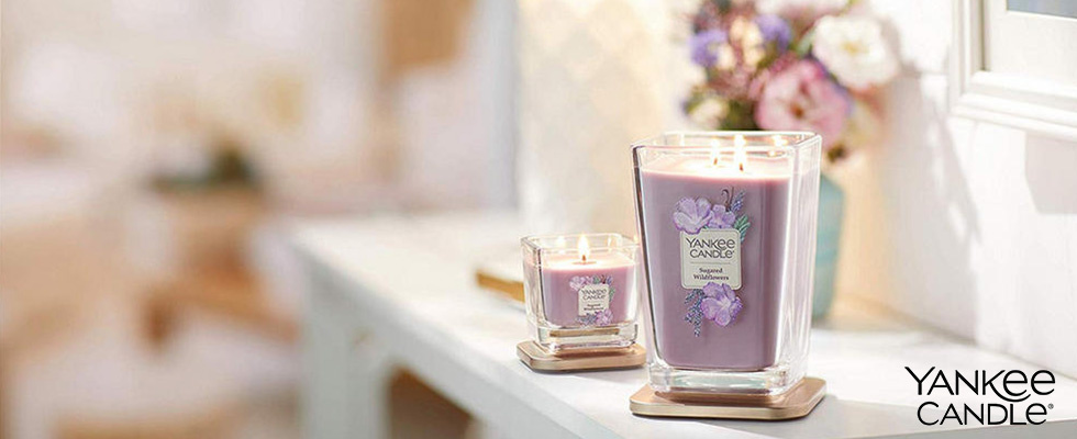 Yankee Candle Elevation Sugared Wildflower