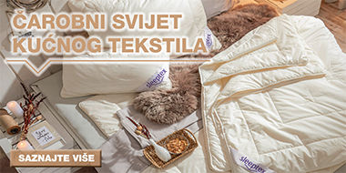 Kvalitetni jastuci i popluni XXXL Lesnina