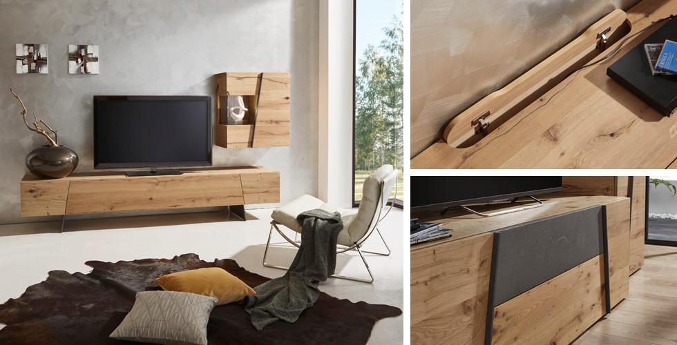 Natur Pur Holzmöbel Im Wohnzimmer Xxxlutz