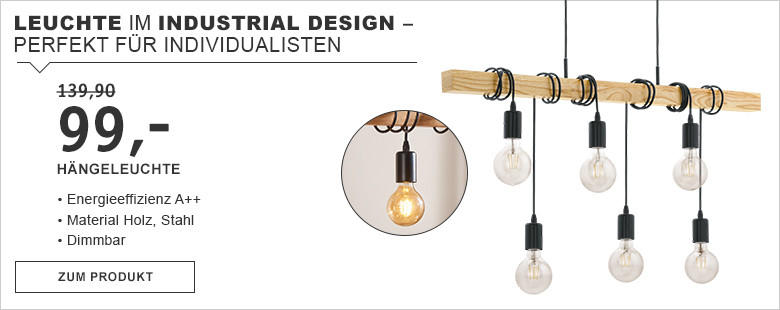 Leuchte Im Industrial Design