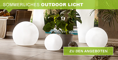 sommerliches outdoor licht