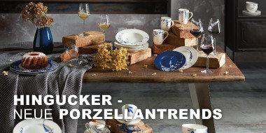 Hingucker Tisch und Tafel Neue Porzellantrends