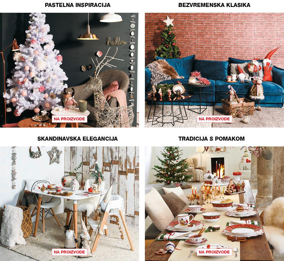 stilovi božićnih ukrasa