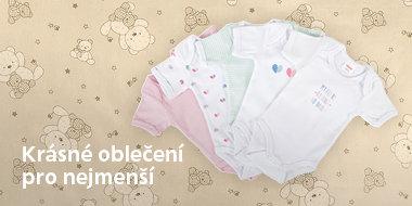 Dětské oblečení pro nejmenší