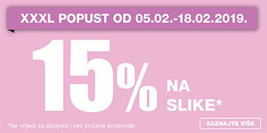 15% na slike u Lesnini