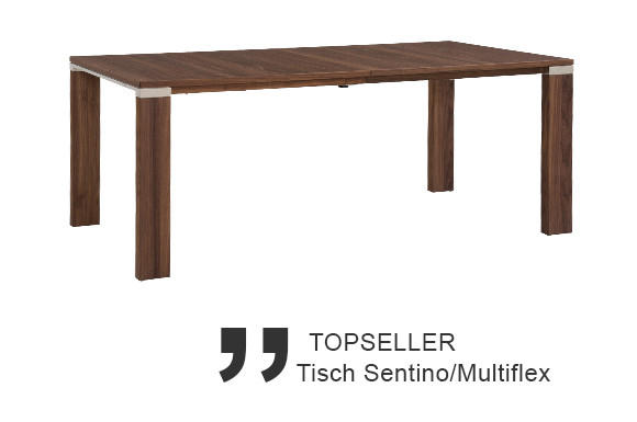 Venjakob Topseller Tisch Sentino Multiflex Serie Produkte Esszimmer