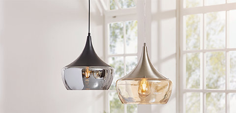 Lampen aus Glas Trends