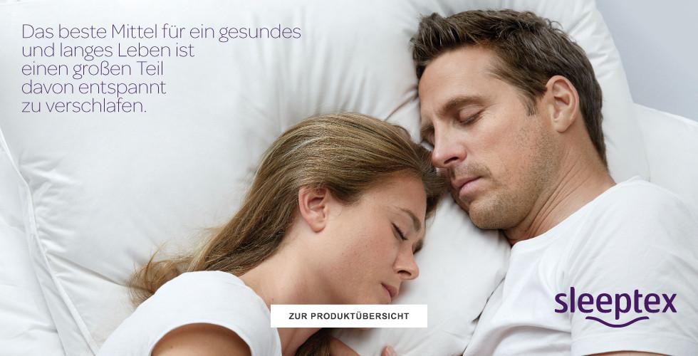 Sleeptex Produktübersicht entdecken