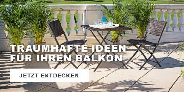 Traumhafte Ideen  für Ihren Balkon