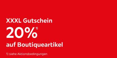 20% auf Boutiqueartikel