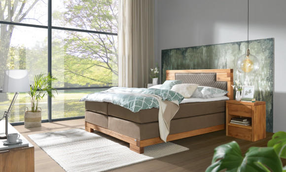 Botanical Schlafzimmer, Schlafzimmer im Nature-Style