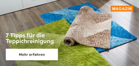 7 Tipps für die Teppichreinigung