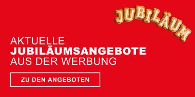 Aktuelle Jubilaeumsangebote aus der Werbung