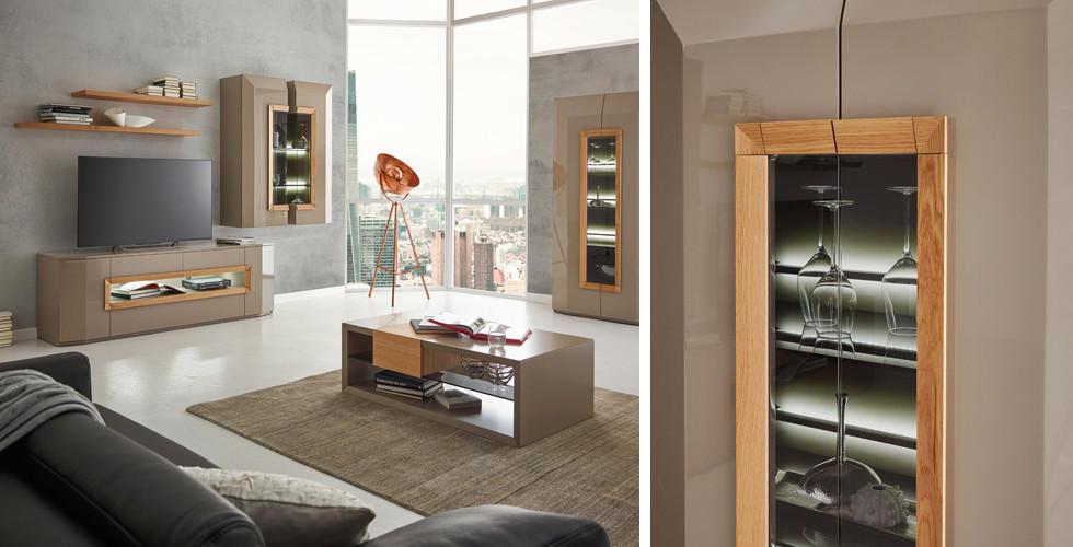 Moderne Wohnzimmerplanung, Wohnwände In Grau Bei XXXLutz.