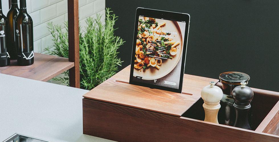 iPad-Halterung für die Küche