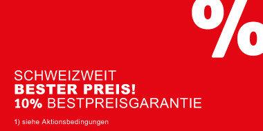 Schweizweit bester Preis! + 10% Bestpreisgarantie
