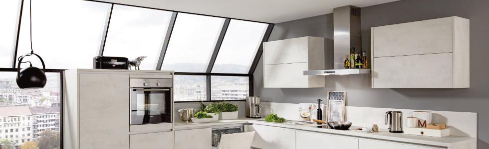 Hängeschränke offene Küche L-Form