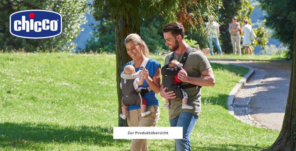 Chicco Baby Babytrage Familie Eltern Grün