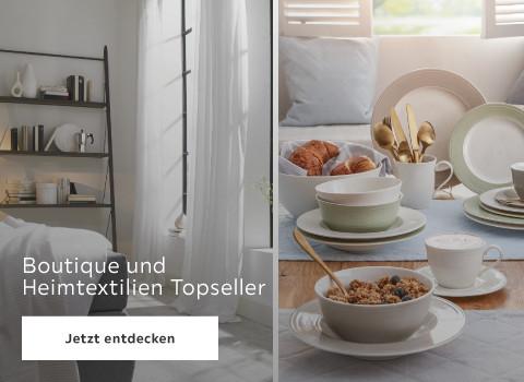 Boutique & Heimtextilien Topseller